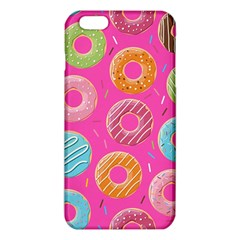 Doughnut Bread Donuts Pink Iphone 6 Plus/6s Plus Tpu Case by Mariart