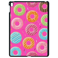 Doughnut Bread Donuts Pink Apple Ipad Pro 9 7   Black Seamless Case by Mariart