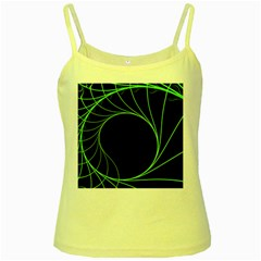 Fractal Golden Ratio Fractal Pattern Nature From Similar Seashell Patterns Yellow Spaghetti Tank by Mariart