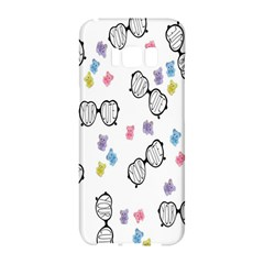 Glasses Bear Cute Doll Animals Samsung Galaxy S8 Hardshell Case  by Mariart