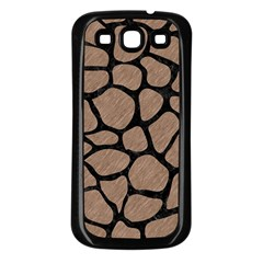 Skin1 Black Marble & Brown Colored Pencil Samsung Galaxy S3 Back Case (black) by trendistuff