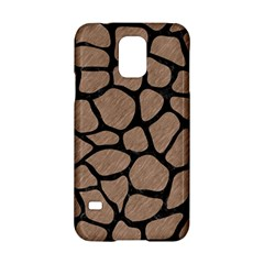Skin1 Black Marble & Brown Colored Pencil Samsung Galaxy S5 Hardshell Case  by trendistuff