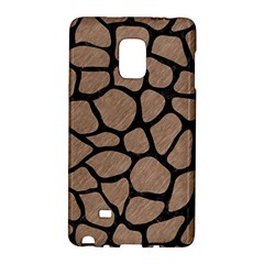 Skin1 Black Marble & Brown Colored Pencil Samsung Galaxy Note Edge Hardshell Case by trendistuff