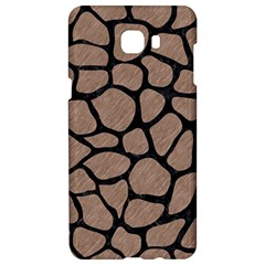 Skin1 Black Marble & Brown Colored Pencil Samsung C9 Pro Hardshell Case  by trendistuff