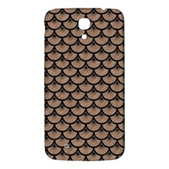 Scales3 Black Marble & Brown Colored Pencil (r) Samsung Galaxy Mega I9200 Hardshell Back Case by trendistuff