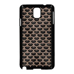 Scales3 Black Marble & Brown Colored Pencil Samsung Galaxy Note 3 Neo Hardshell Case (black) by trendistuff