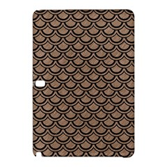 Scales2 Black Marble & Brown Colored Pencil (r) Samsung Galaxy Tab Pro 12 2 Hardshell Case by trendistuff