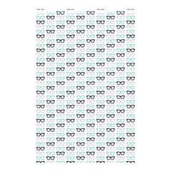 Glasses Black Blue Shower Curtain 48  X 72  (small)  by Mariart