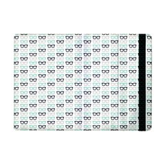 Glasses Black Blue Ipad Mini 2 Flip Cases by Mariart