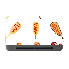 Hot Dog Buns Sate Sauce Bread Memory Card Reader With Cf by Mariart