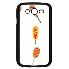Hot Dog Buns Sate Sauce Bread Samsung Galaxy Grand Duos I9082 Case (black) by Mariart