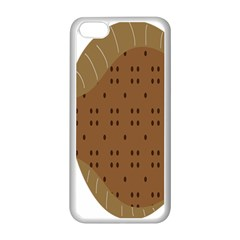 Illustrain Animals Reef Fish Sea Beach Water Seaword Brown Polka Apple Iphone 5c Seamless Case (white) by Mariart