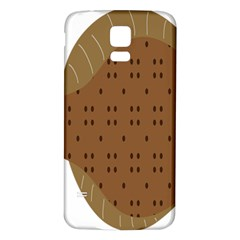 Illustrain Animals Reef Fish Sea Beach Water Seaword Brown Polka Samsung Galaxy S5 Back Case (white) by Mariart
