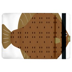 Illustrain Animals Reef Fish Sea Beach Water Seaword Brown Polka Ipad Air 2 Flip by Mariart