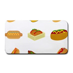 Hot Dog Buns Sauce Bread Medium Bar Mats by Mariart