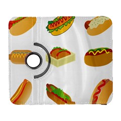 Hot Dog Buns Sauce Bread Galaxy S3 (flip/folio) by Mariart