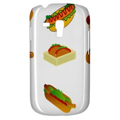 Hot Dog Buns Sauce Bread Galaxy S3 Mini by Mariart