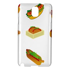 Hot Dog Buns Sauce Bread Samsung Galaxy Note 3 N9005 Hardshell Case by Mariart