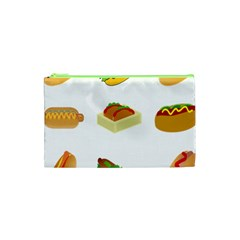 Hot Dog Buns Sauce Bread Cosmetic Bag (xs) by Mariart