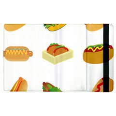 Hot Dog Buns Sauce Bread Apple Ipad Pro 12 9   Flip Case by Mariart