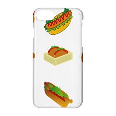 Hot Dog Buns Sauce Bread Apple Iphone 7 Hardshell Case by Mariart