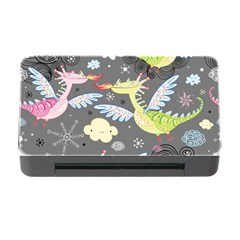 Dragonfly Animals Dragom Monster Fair Cloud Circle Polka Memory Card Reader With Cf by Mariart
