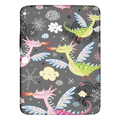Dragonfly Animals Dragom Monster Fair Cloud Circle Polka Samsung Galaxy Tab 3 (10 1 ) P5200 Hardshell Case  by Mariart