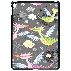 Dragonfly Animals Dragom Monster Fair Cloud Circle Polka Apple Ipad Pro 9 7   Black Seamless Case by Mariart