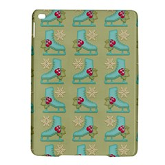 Ice Skates Background Christmas Ipad Air 2 Hardshell Cases by Mariart