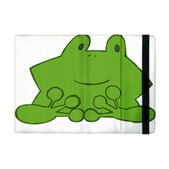 Illustrain Frog Animals Green Face Smile Ipad Mini 2 Flip Cases by Mariart