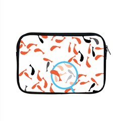 Illustrain Goldfish Fish Swim Pool Apple Macbook Pro 15  Zipper Case