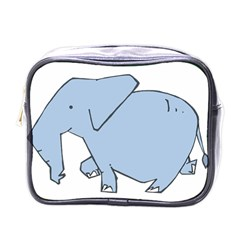 Illustrain Elephant Animals Mini Toiletries Bags