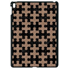 Puzzle1 Black Marble & Brown Colored Pencil Apple Ipad Pro 9 7   Black Seamless Case by trendistuff