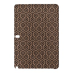 Hexagon1 Black Marble & Brown Colored Pencil (r) Samsung Galaxy Tab Pro 10 1 Hardshell Case by trendistuff