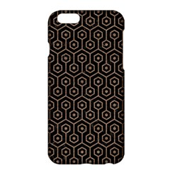 Hexagon1 Black Marble & Brown Colored Pencil Apple Iphone 6 Plus/6s Plus Hardshell Case by trendistuff