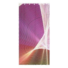 Light Means Net Pink Rainbow Waves Wave Chevron Shower Curtain 36  X 72  (stall)  by Mariart