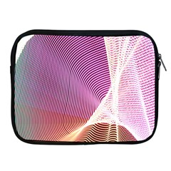 Light Means Net Pink Rainbow Waves Wave Chevron Apple Ipad 2/3/4 Zipper Cases