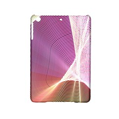 Light Means Net Pink Rainbow Waves Wave Chevron Ipad Mini 2 Hardshell Cases by Mariart