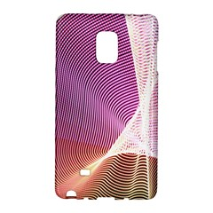 Light Means Net Pink Rainbow Waves Wave Chevron Galaxy Note Edge by Mariart