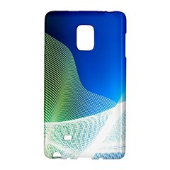 Light Means Net Pink Rainbow Waves Wave Chevron Green Blue Galaxy Note Edge by Mariart