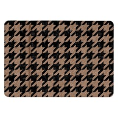 Houndstooth1 Black Marble & Brown Colored Pencil Samsung Galaxy Tab 8 9  P7300 Flip Case by trendistuff