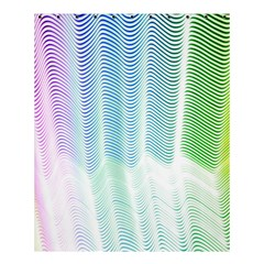 Light Means Net Pink Rainbow Waves Wave Chevron Green Shower Curtain 60  X 72  (medium)  by Mariart