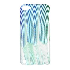 Light Means Net Pink Rainbow Waves Wave Chevron Green Apple Ipod Touch 5 Hardshell Case by Mariart