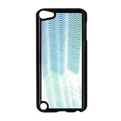 Light Means Net Pink Rainbow Waves Wave Chevron Green Apple Ipod Touch 5 Case (black) by Mariart