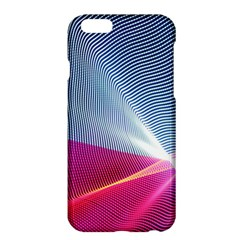 Light Means Net Pink Rainbow Waves Wave Chevron Red Apple Iphone 6 Plus/6s Plus Hardshell Case by Mariart