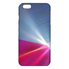 Light Means Net Pink Rainbow Waves Wave Chevron Red Iphone 6 Plus/6s Plus Tpu Case by Mariart