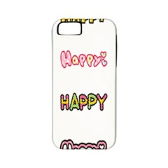 Lucky Happt Good Sign Star Apple Iphone 5 Classic Hardshell Case (pc+silicone) by Mariart