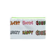 Lucky Happt Good Sign Star Cosmetic Bag (xs) by Mariart
