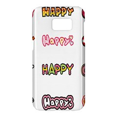 Lucky Happt Good Sign Star Samsung Galaxy S7 Hardshell Case  by Mariart