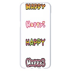 Lucky Happt Good Sign Star Samsung Galaxy S8 Plus White Seamless Case
